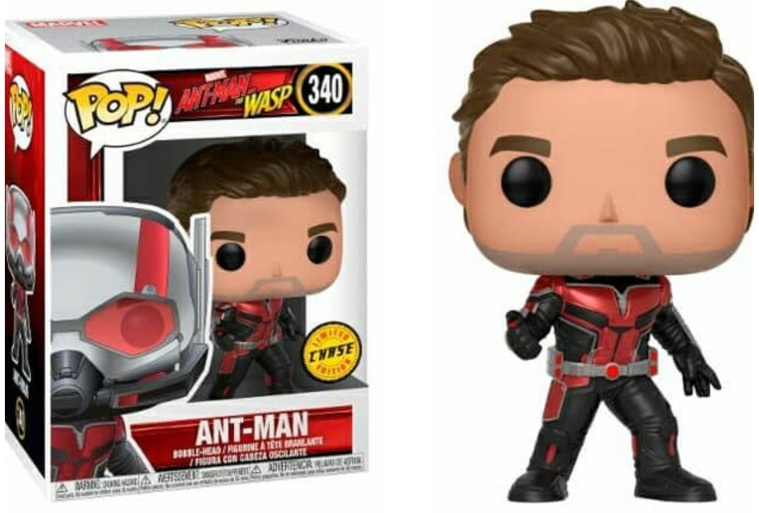 Cambio Ant-Man 340- Unmasked Chase