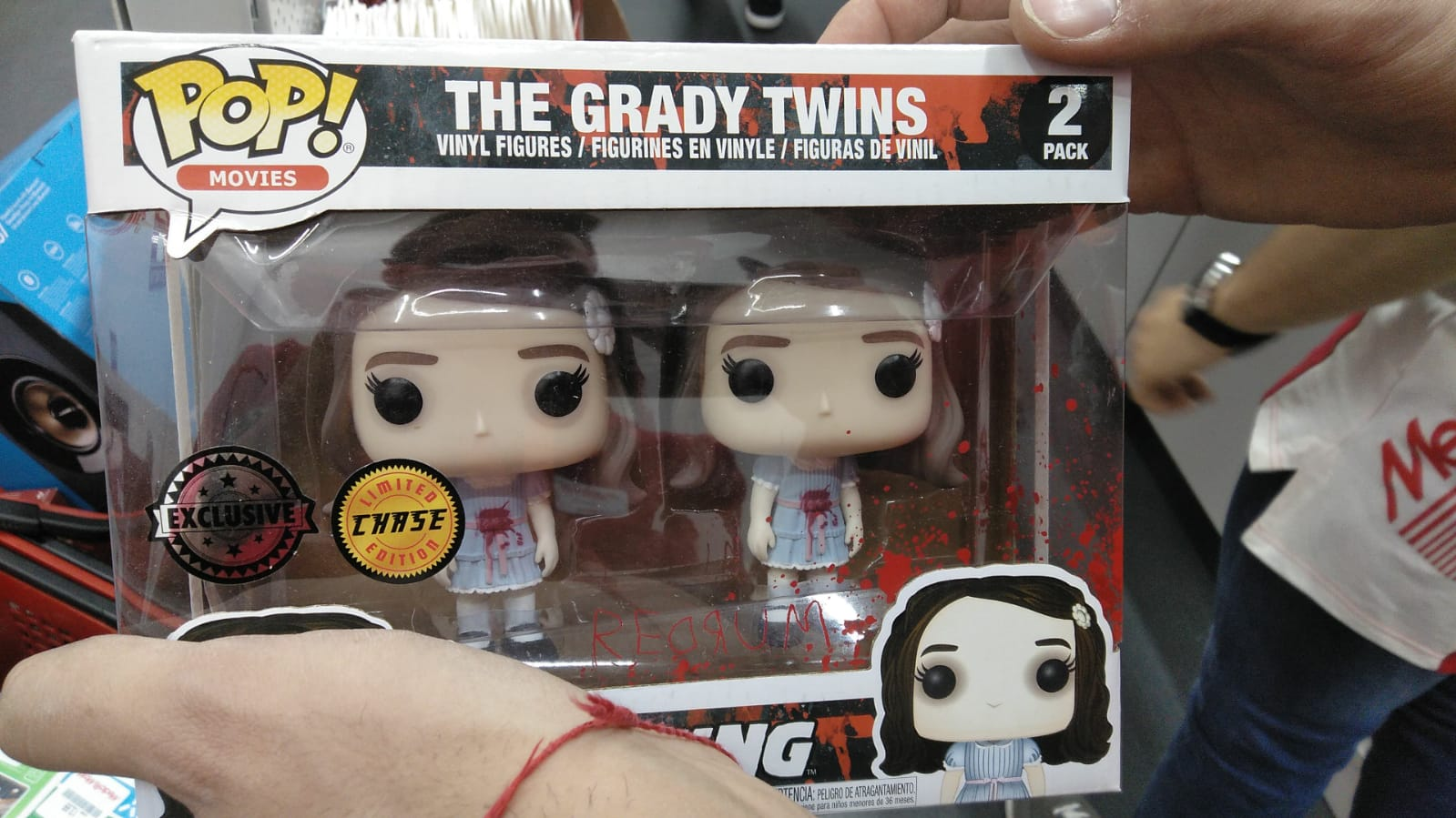 Cambio Funko Grady Twins The Shining Exclusive CHASE