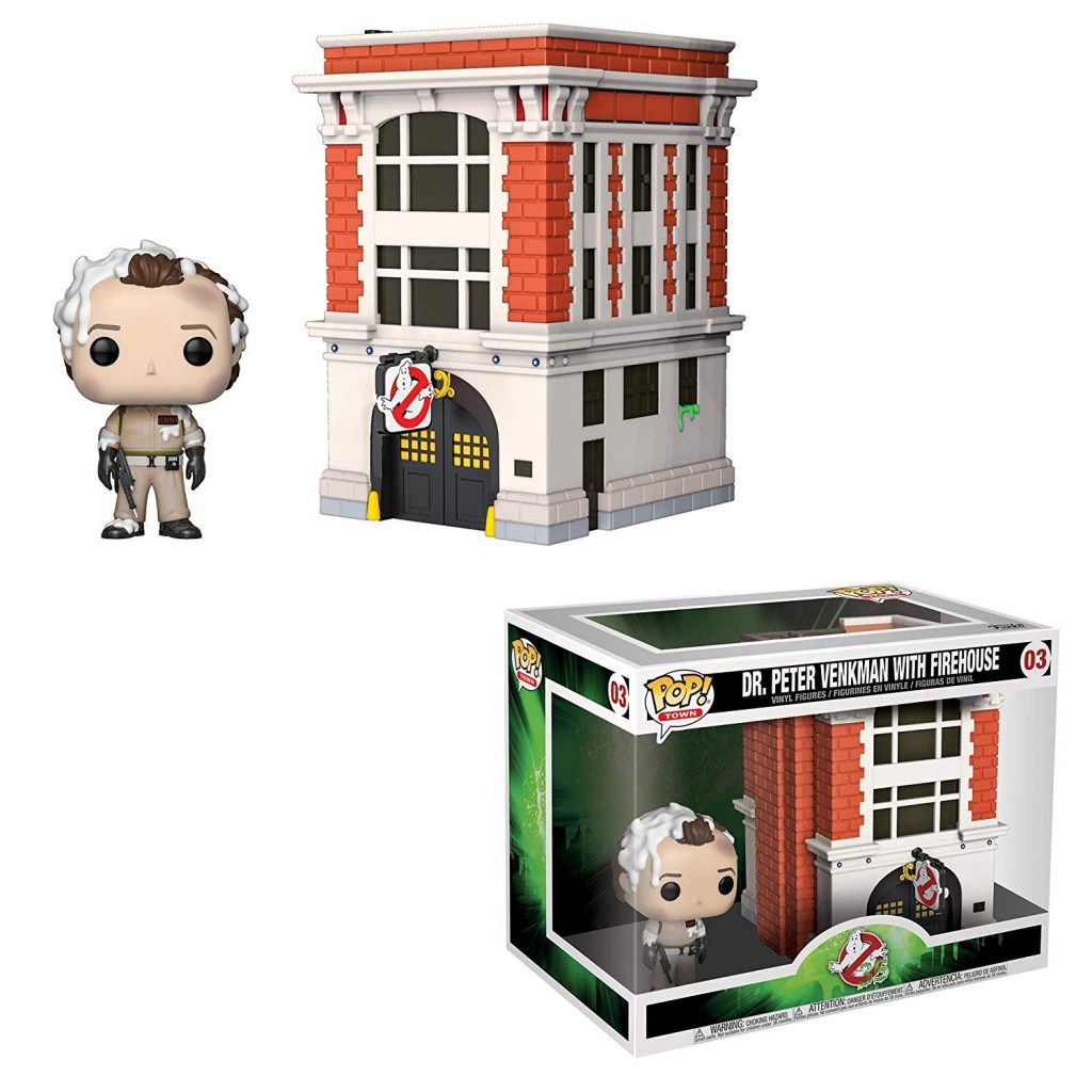 Dr. Peter Venkman with Firehouse