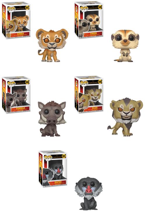 Funko Pop! el rey leon