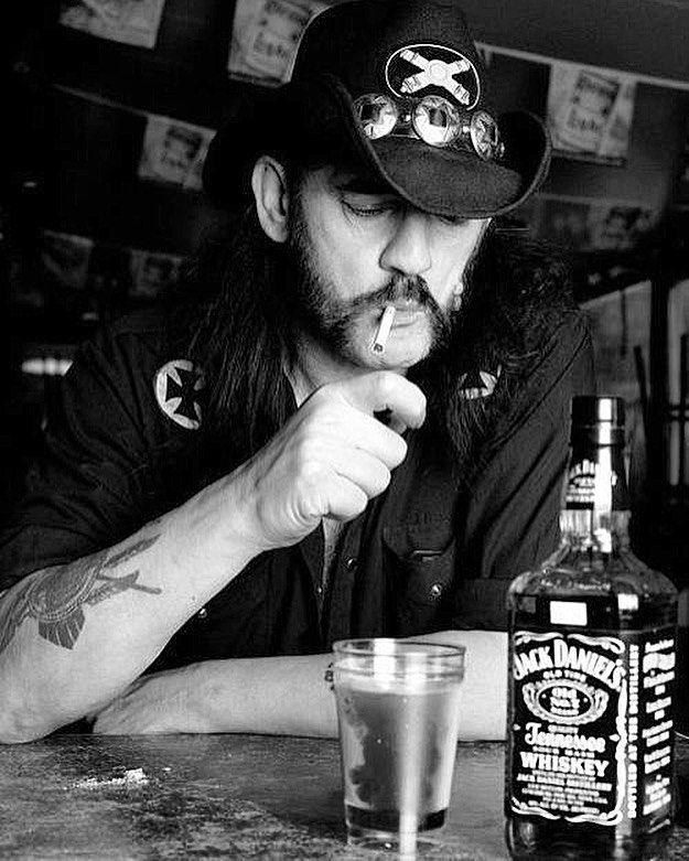Lemmy Kilmister Jack Daniels