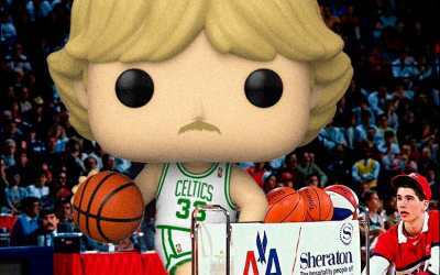FUNKO POP LARRY BIRD