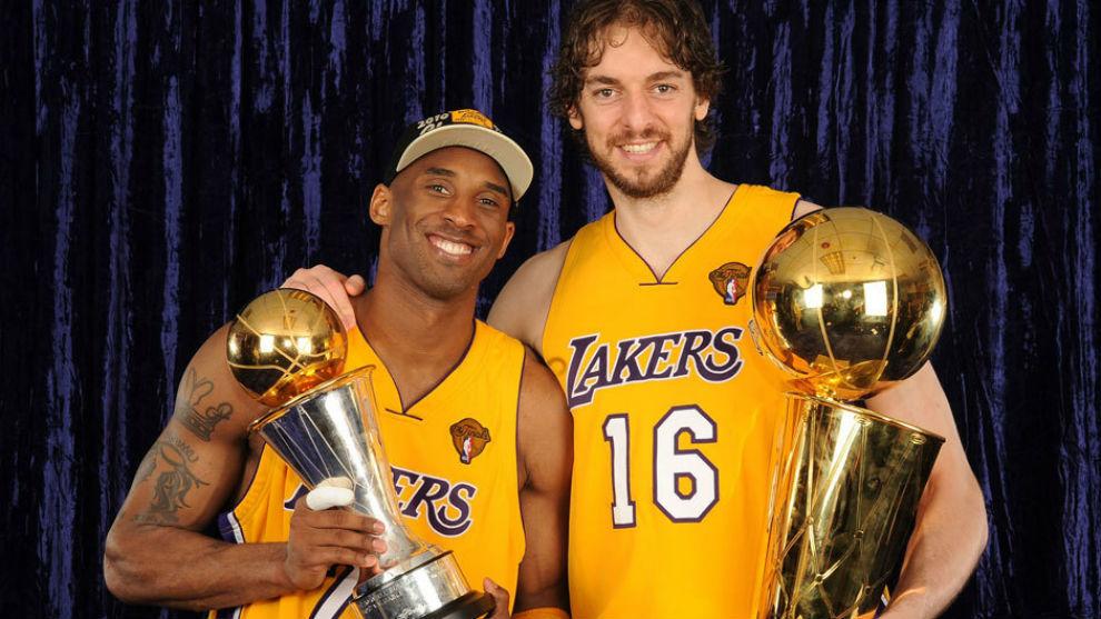 Pau y Kobe