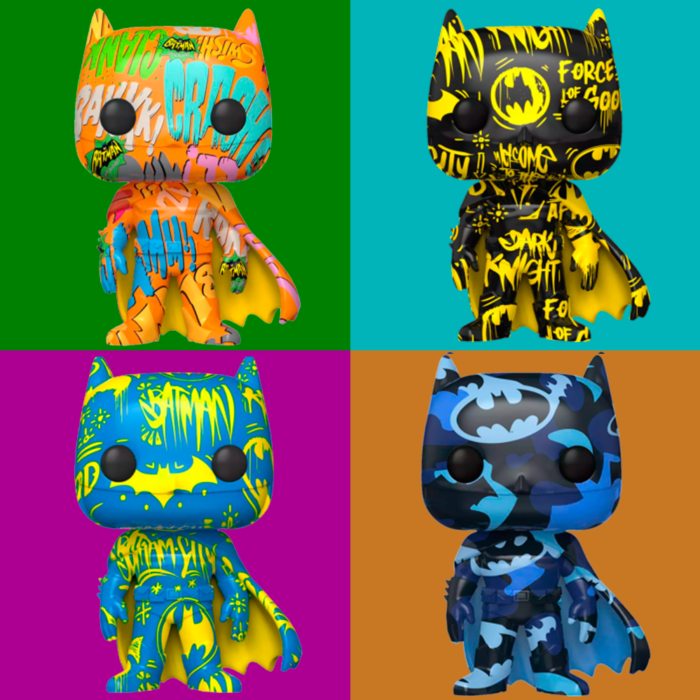 Funko Pop Batman Art Series