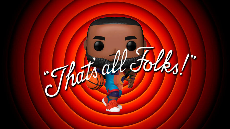 FUNKO POP LEBRON SPACE JAM
