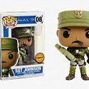 Funko pop Sgt Johnson CHASE halo